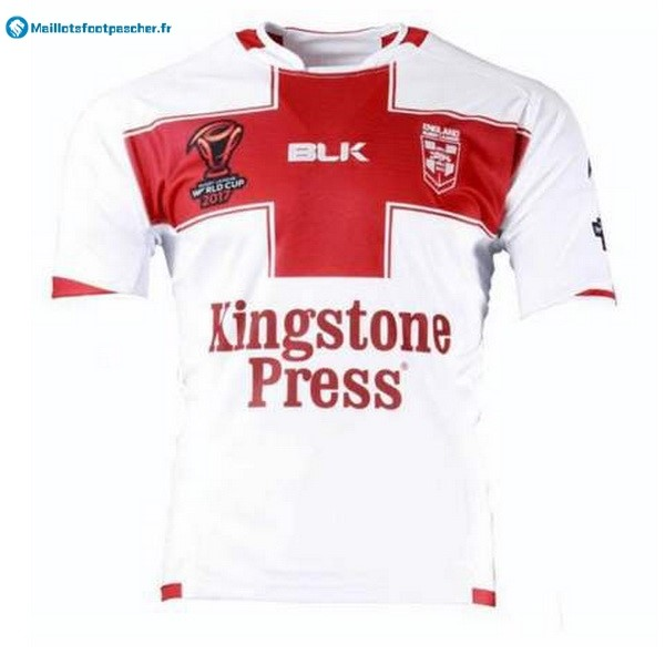 Maillot Rugby Pas Cher Angleterre RLWC Domicile 2017 2018 Blanc