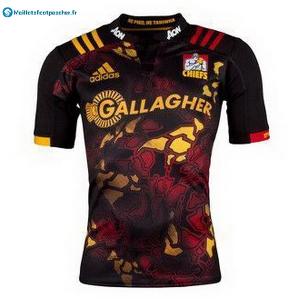 Maillot Rugby Pas Cher Chiefs 2017 2018 Noir
