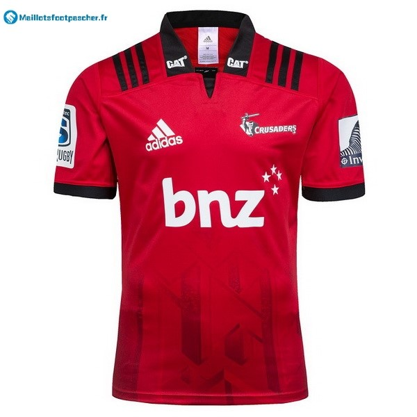 Maillot Rugby Pas Cher Crusaders Domicile 2018 Rouge