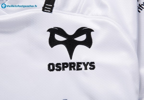 Maillot Rugby Pas Cher Ospreys Exterieur 2017 2018 Blanc
