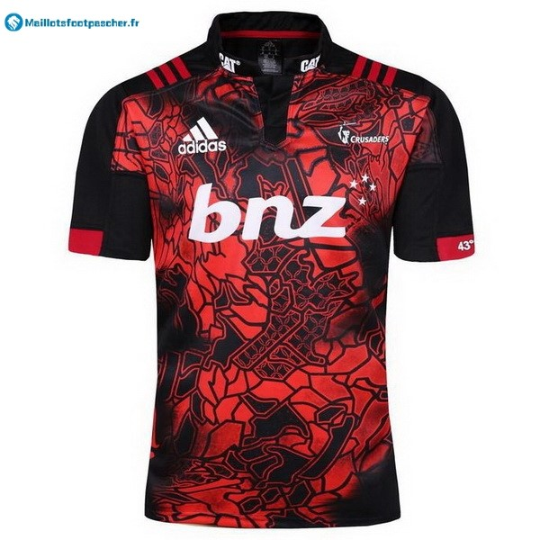 Maillot Rugby Pas Cher Crusaders 2017 2018 Rouge