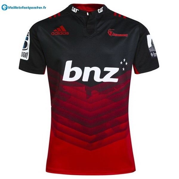 Maillot Rugby Pas Cher Crusaders Domicile 2017 2018 Rouge
