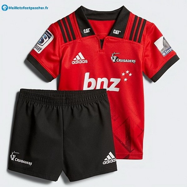 Maillot Rugby Pas Cher Crusaders Domicile Enfant 2018 Rouge