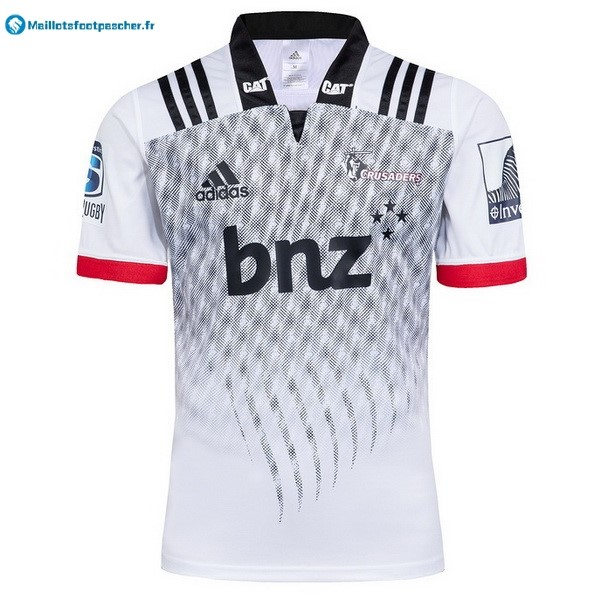 Maillot Rugby Pas Cher Crusaders Exterieur 2018 Blanc