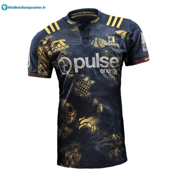 Maillot Rugby Pas Cher Highlanders 2017 2018 Bleu