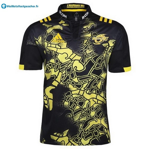 Maillot Rugby Pas Cher Hurricanes 2017 2018 Noir