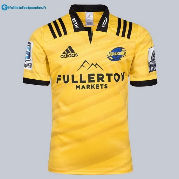 Maillot Rugby Pas Cher Hurricanes Domicile 2018 Jaune