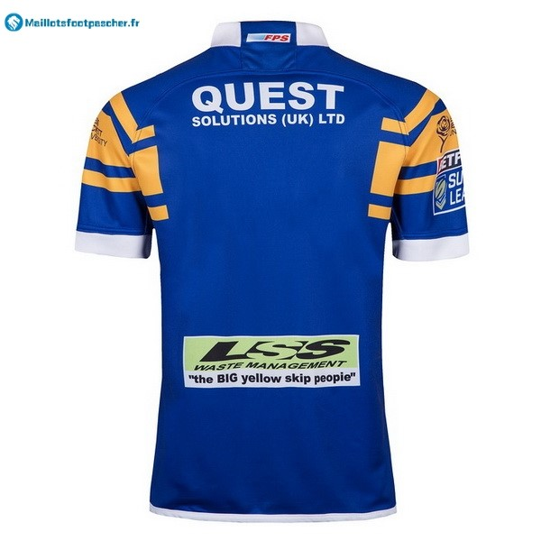 Maillot Rugby Pas Cher Leeds Rhinos Domicile 2018 Bleu