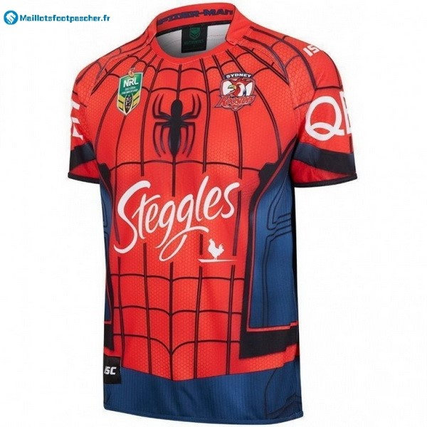 Maillot Rugby Pas Cher Sydney Roosters 2017 2018 Rouge