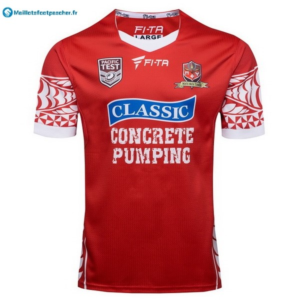 Maillot Rugby Pas Cher Tonga Domicile 2017 2018 Rouge