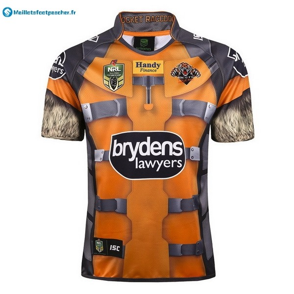 Maillot Rugby Pas Cher Wests Tigers 2017 2018 Jaune