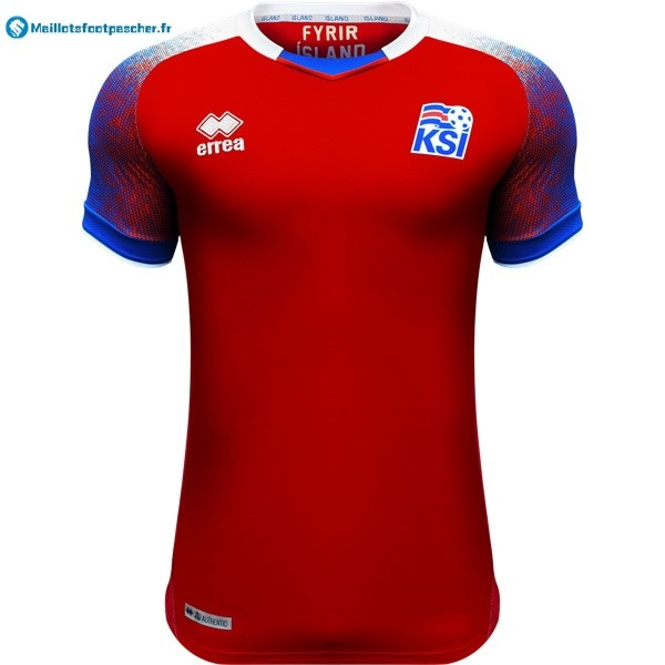 Maillot Foot Pas Cher Islande Third 2018 Rouge