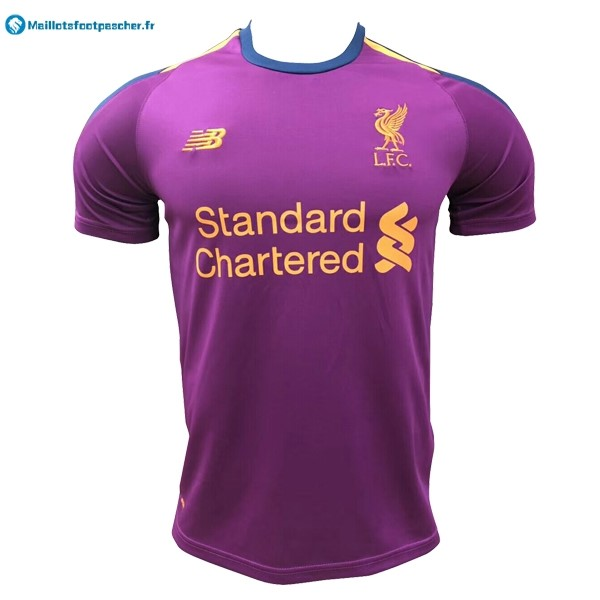 Maillot Foot Pas Cher Liverpool Third 2018 2019 Purpura