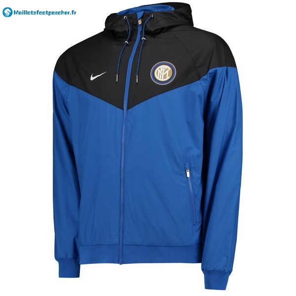 Sweat Shirt Capuche Inter de Milán 2018 2019 Bleu Noir