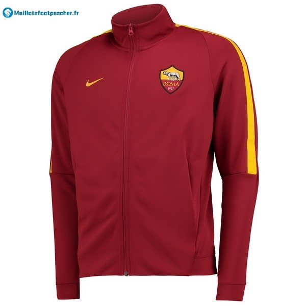Veste Foot Pas Cher AS Roma 2017 2018 Rouge