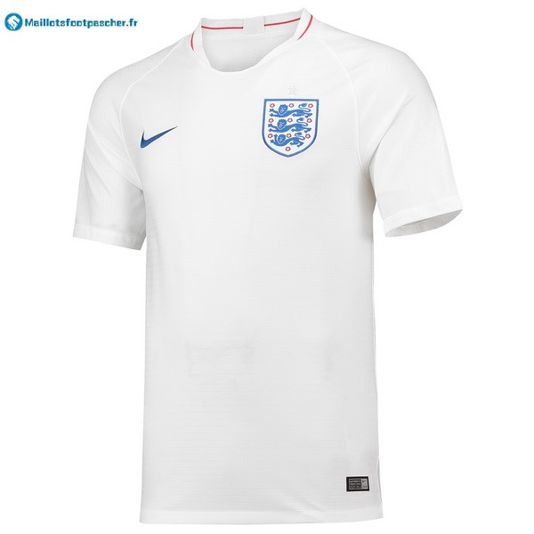 Maillot Foot Pas Cher Angleterre Domicile 2018 Blanc