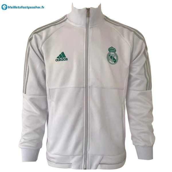 Veste Foot Pas Cher Real Madrid 2017 2018 Blanc