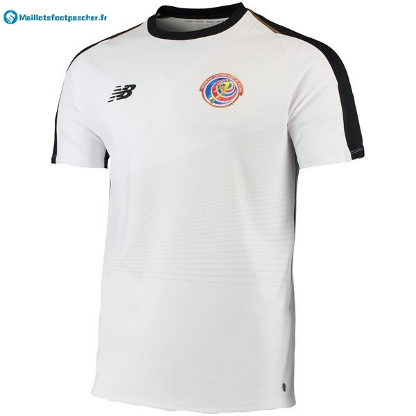 Maillot Foot Pas Cher Costa Rica Exterieur 2018 Blanc
