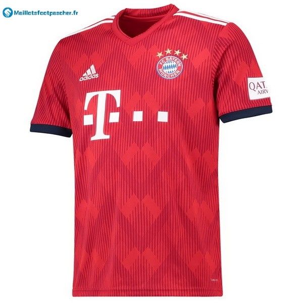 Maillot Foot Pas Cher Bayern Munich Domicile 2018 2019 Rouge