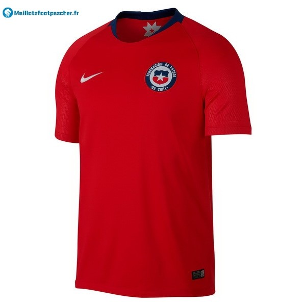 Maillot Foot Pas Cher Chili Domicile 2018 Rouge