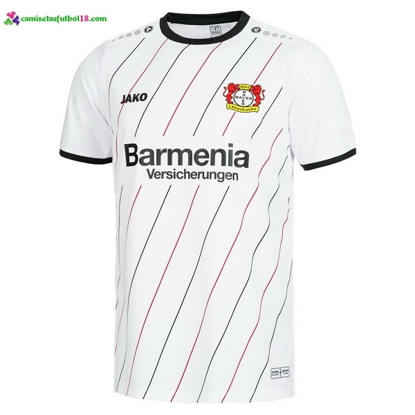Maillot Foot Pas Cher Leverkusen JAKO 30th UEFA CUP 2018 2019 Blanc