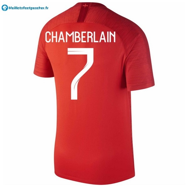 Maillot Foot Pas Cher Angleterre Exterieur Chamberlain 2018 Rouge