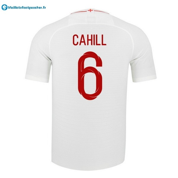 Maillot Foot Pas Cher Angleterre Domicile Cahill 2018 Blanc