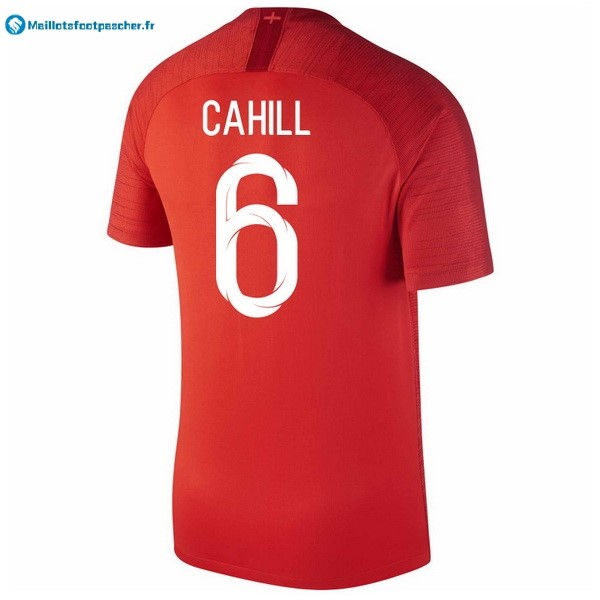 Maillot Foot Pas Cher Angleterre Exterieur Cahill 2018 Rouge