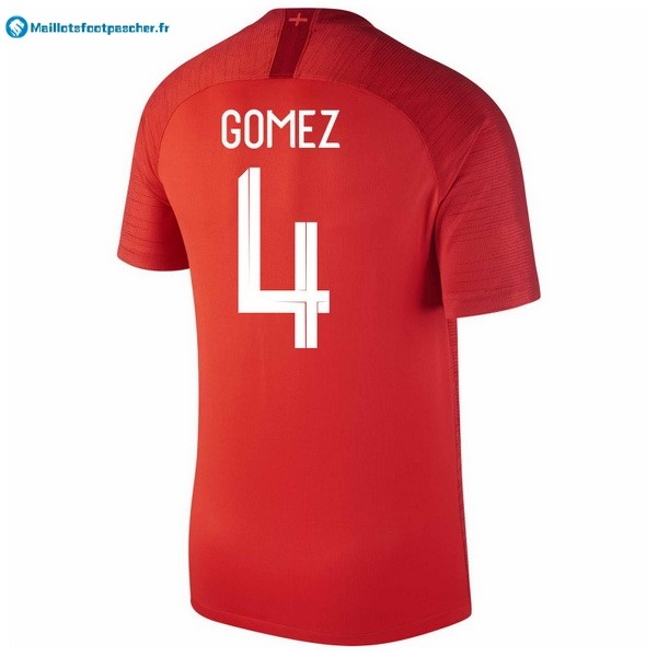 Maillot Foot Pas Cher Angleterre Exterieur Gomez 2018 Rouge