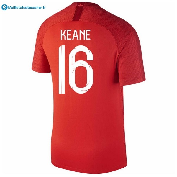 Maillot Foot Pas Cher Angleterre Exterieur Keane 2018 Rouge