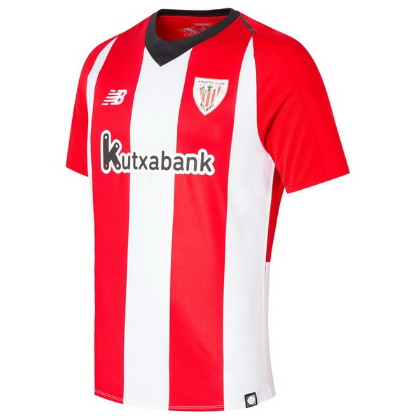 Maillot Foot Pas Cher Athletic Bilbao Domicile 2018 2019 Rouge Blanc