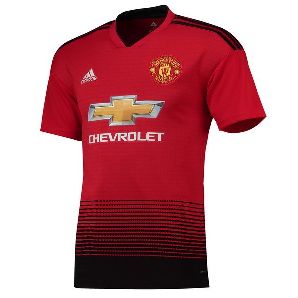 Maillot Foot Pas Cher Manchester United Domicile 2018 2019 Rouge