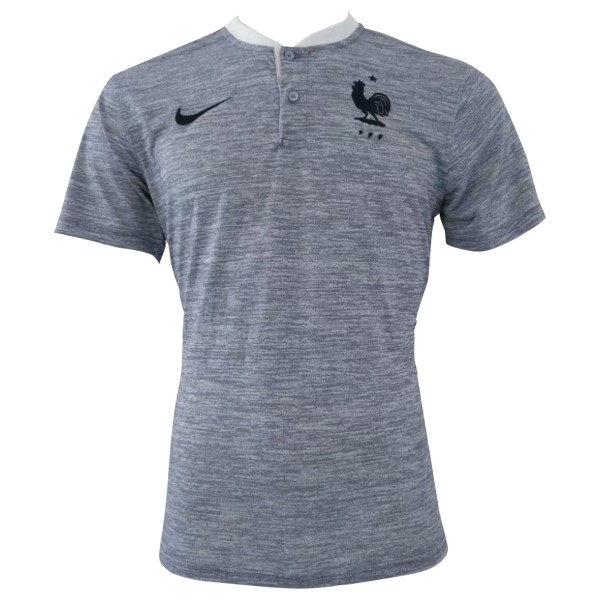 Polo Foot Pas Cher France 2018 Gris
