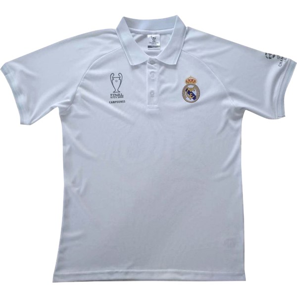 Polo Foot Pas Cher Real Madrid 2018 2019 Blanc