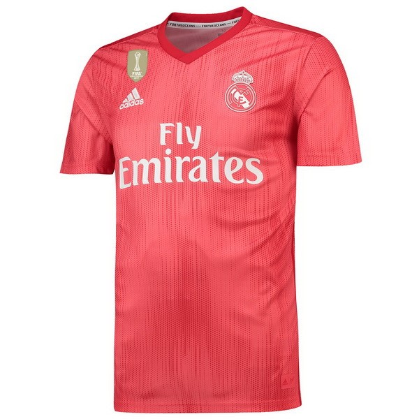 Thailande Maillot Foot Pas Cher Real Madrid Third 2018 2019 Rouge