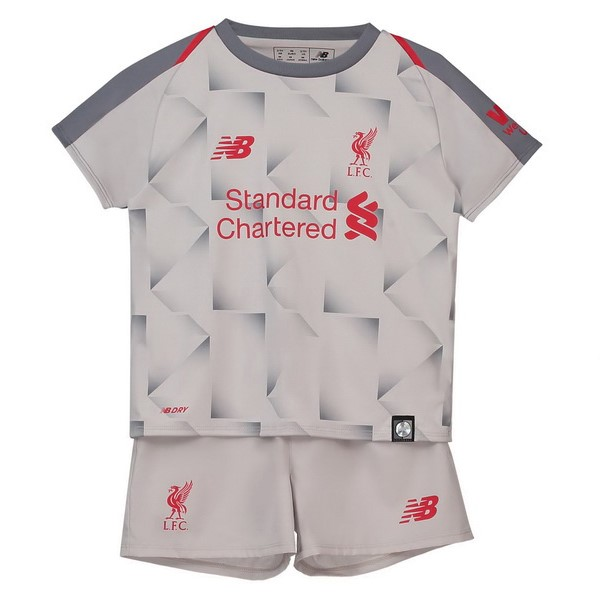 Maillot Foot Pas Cher Liverpool Third Enfant 2018 2019 Blanc