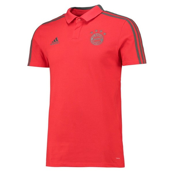 Polo Foot Pas Cher Bayern Munich 2018 2019 Rouge