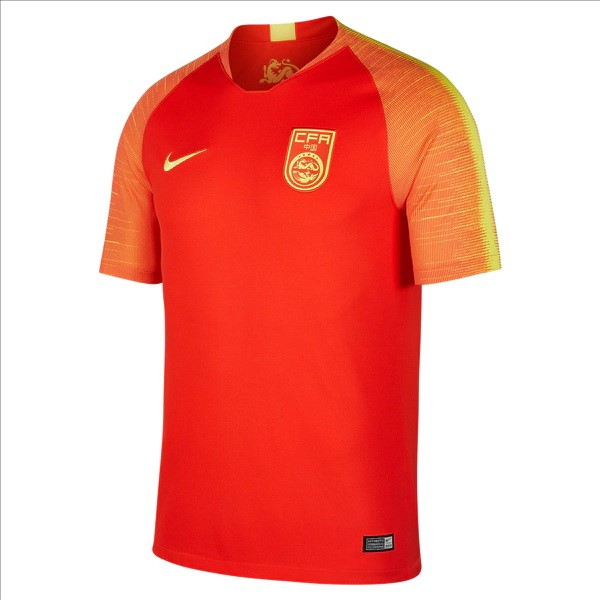 Maillot Foot Pas Cher Chine Domicile 2018 Rouge