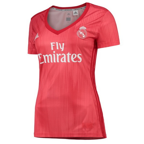 Maillot Foot Pas Cher Real Madrid Third Femme 2018 2019 Rouge