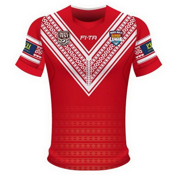 Maillot Foot Pas Cher Tonga Domicile 2018 Rouge