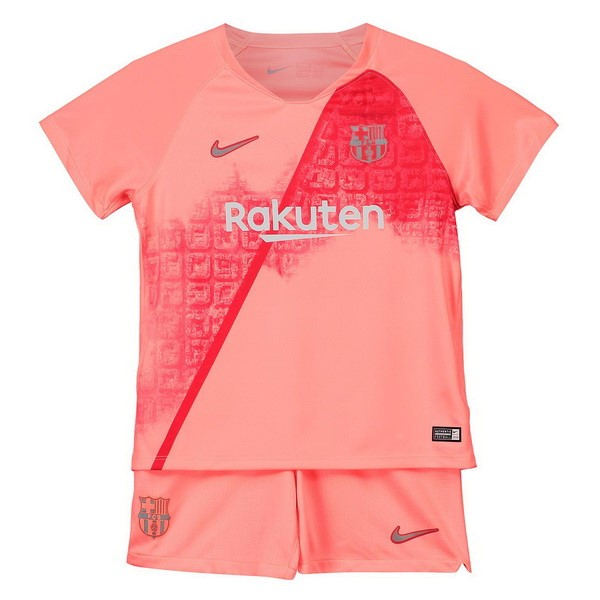 Maillot Foot Pas Cher Barcelona Third Enfant 2018 2019 Rouge