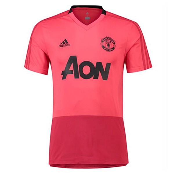 Maillot Foot Pas Cher Entrainement Manchester United 2018 2019 Rose