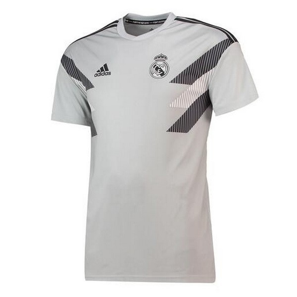 Maillot Foot Pas Cher Entrainement Real Madrid Gris 2018 2019