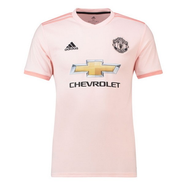 Maillot Foot Pas Cher Manchester United Exterieur 2018 2019 Rose