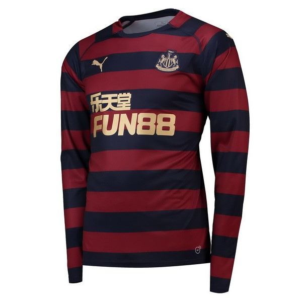 Maillot Foot Pas Cher Newcastle United Exterieur Manga Larga 2018 2019 Rouge