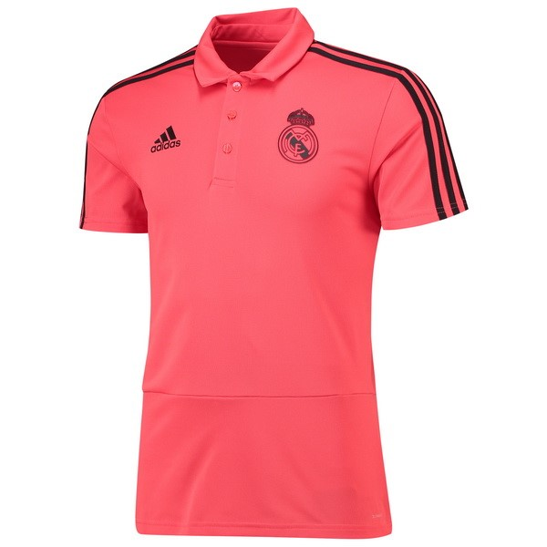 Polo Foot Pas Cher Real Madrid 2018 2019 Rose