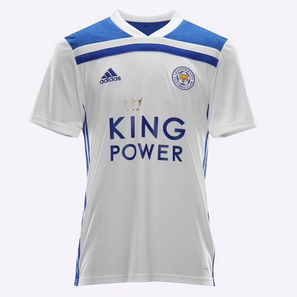 Thailande Maillot Foot Pas Cher Leicester City Third 2018 2019 Blanc