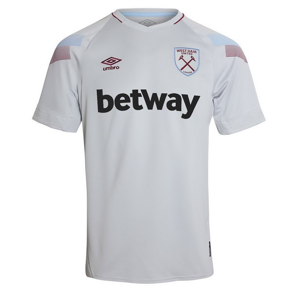 Maillot Foot Pas Cher West Ham United Third 2018 2019 Blanc