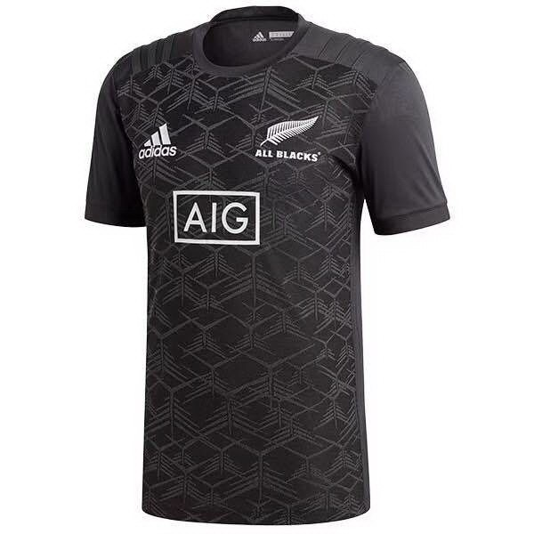 Maillot Rugby Pas Cher Entrainement All Blacks 2018 Noir