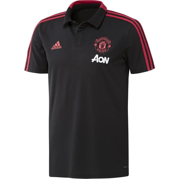Polo Foot Pas Cher Manchester United 2018 2019 Gris